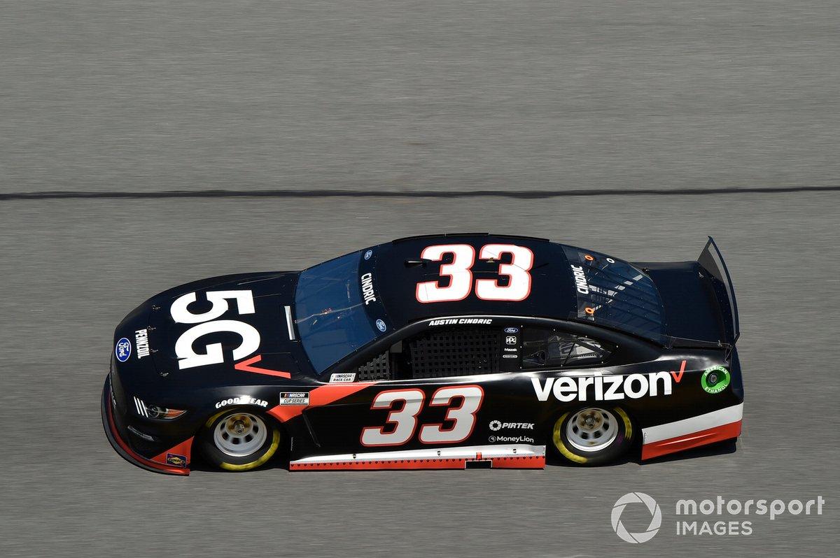 #33: Austin Cindric, Team Penske, Ford Mustang