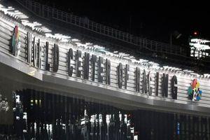 Schriftzug: World Center of Racing, Daytona International Speedway