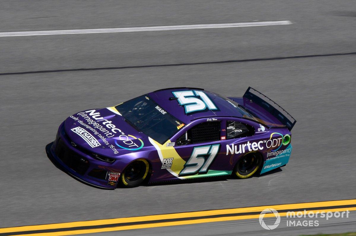 35. Cody Ware, Petty Ware Racing, Chevrolet Camaro