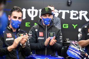 Maverick Vinales bij Yamaha Factory Racing afscheidsfeest