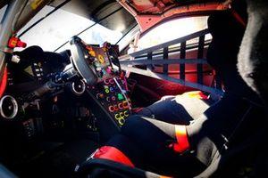 Ferrari 488 GTE cockpit