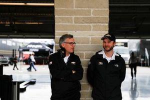 Paul Ray of Ilmor, and Robert Buckner of Chevrolet