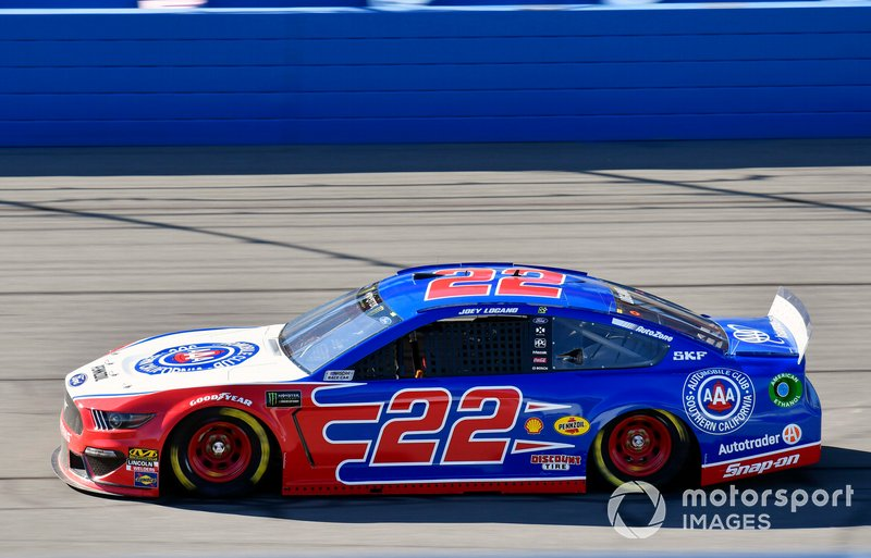 5. Joey Logano, Team Penske, Ford Mustang AAA Southern California