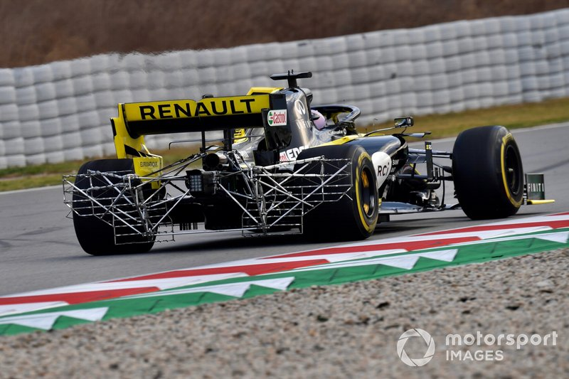 Renault F1 Team R.S. 19 with aero sensors