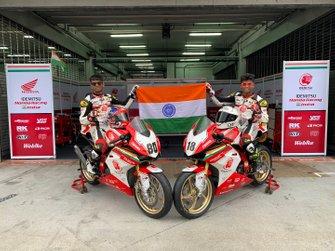 Rajiv Sethu, Honda Racing India and Senthil Kumar, Honda Racing India