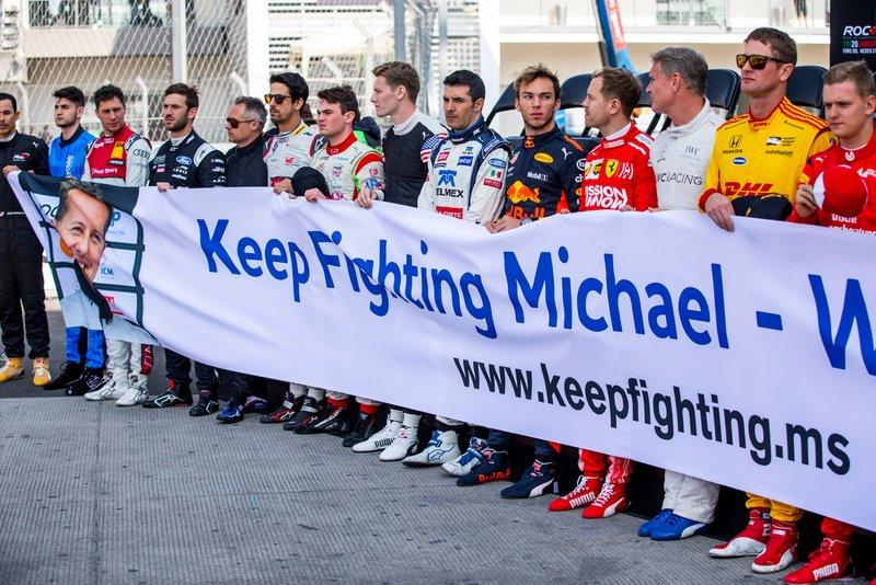 L'hommage à Michael Schumacher