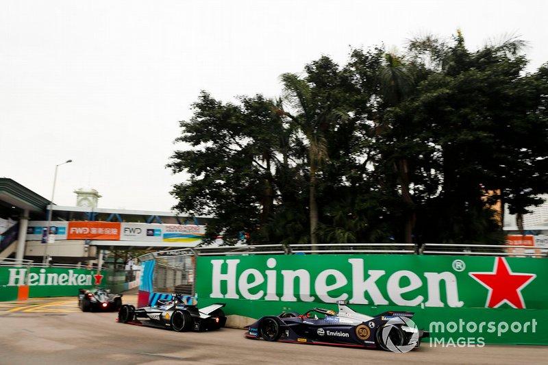 Sébastien Buemi, Nissan e.Dams , Nissan IMO1 Robin Frijns, Envision Virgin Racing, Audi e-tron FE05