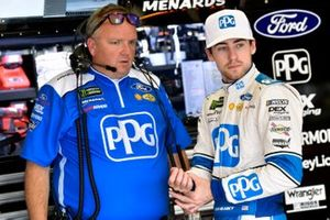Ryan Blaney, Team Penske, mit Jeremy Bullins