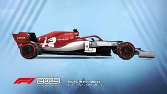 F1 2019 Alfa-Romeo livery