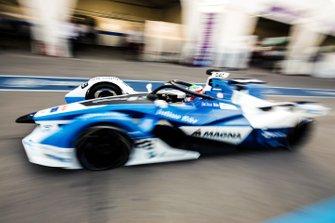 Antonio Felix da Costa, BMW I Andretti Motorsports, BMW iFE.18, drives down the pit lane