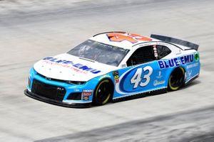 Darrell Wallace Jr., Richard Petty Motorsports, Chevrolet Camaro Blue-Emu