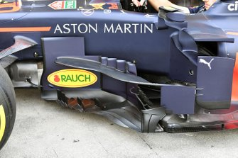 Vloer en aero Red Bull Racing RB15