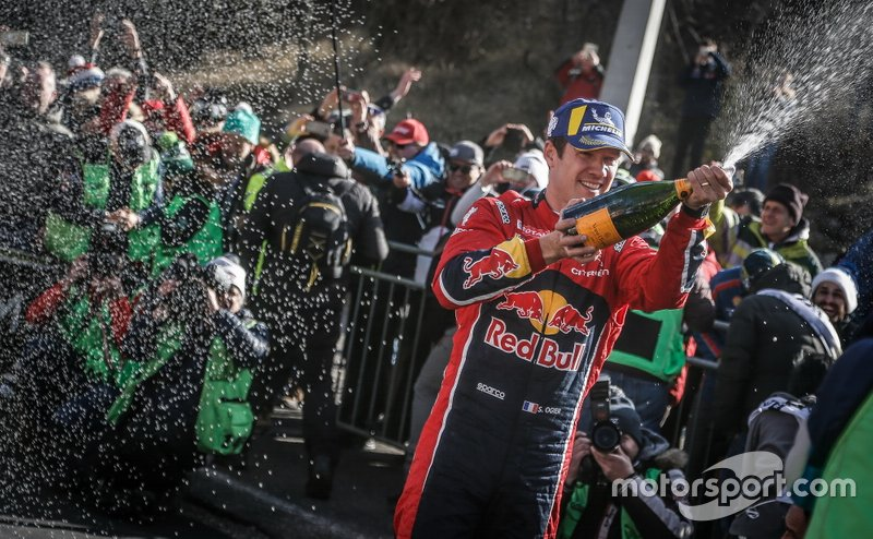 Podio: Ganadores, Sébastien Ogier, Citroën World Rally Team Citroen C3 WRC