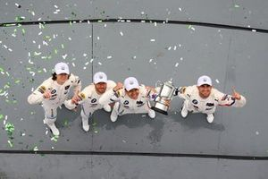 GTLM Race Winners, #25 BMW Team RLL BMW M8 GTE, GTLM: Augusto Farfus, Connor De Phillippi, Philipp Eng, Colton Herta