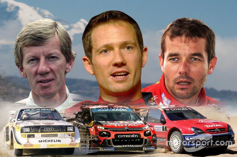 Röhrl, Loeb, Ogier : leurs succès sur le Monte-Carlo en images