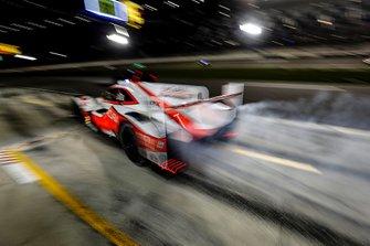 #6 Acura Team Penske Acura DPi, DPi: Juan Pablo Montoya, Dane Cameron, Simon Pagenaud, au stand