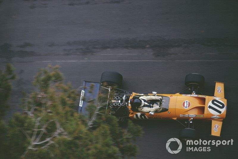Пітер Гетін, McLaren M14A Ford