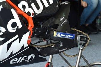 Dettaglio di una KTM del Team Tech 3