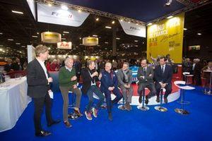 Conférence de presse du Grand Prix de France Historique à Rétromobile