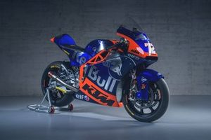La moto de Marco Bezzecchi, Red Bull KTM Tech3