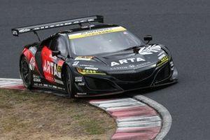 #55 Autobacs Racing Team Aguri Honda NSX GT3 Evo: Shinichi Takagi, Nirei Fukuzumi