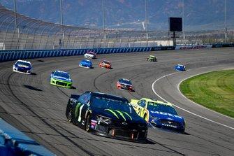 Kurt Busch, Chip Ganassi Racing, Chevrolet Camaro Monster Energy, Paul Menard, Wood Brothers Racing, Ford Mustang Menards / MOEN