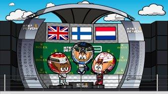 El GP de Australia de F1 según MIniDrivers