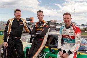 Гонщики Melbourne Performance Centre Пит Стори, Гордн Шедден и Мэтью Нил