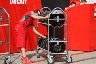 Neumáticos del Ducati Team