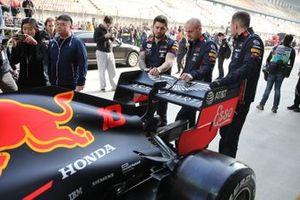 Red Bull Racing RB15, dettaglio posteriore