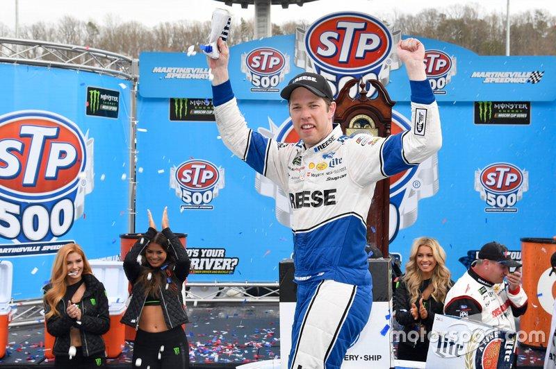 Ganador, Brad Keselowski, Team Penske, Ford Mustang Reese/DrawTite