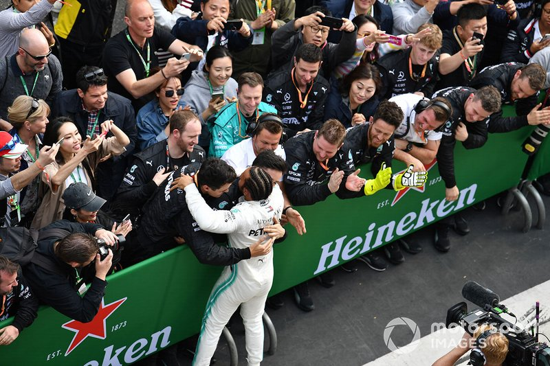 75 - GP de China 2019, Mercedes