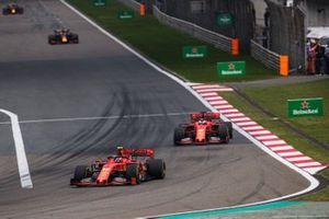 Шарль Леклер и Себастьян Феттель, Ferrari SF90