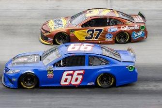 Timmy Hill, Motorsports Business Management, Toyota Camry Chris Buescher, JTG Daugherty Racing, Chevrolet Camaro Bush's Beans