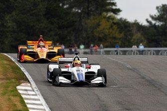 Ben Hanley, DragonSpeed Chevrolet, Ryan Hunter-Reay, Andretti Autosport Honda