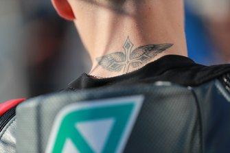 Fabio Quartararo, Petronas Yamaha SRT, tattoo