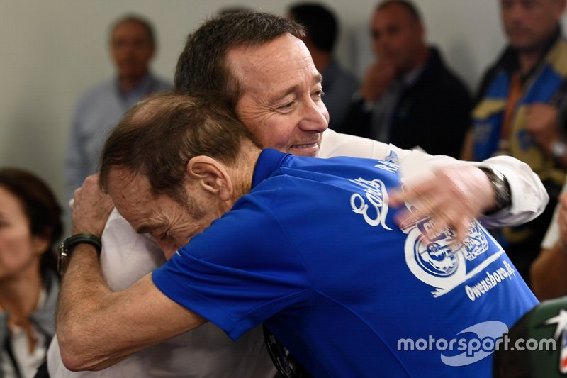 MotoGP Legend Freddie Spencer with Hayden's father, Earl