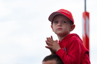 Un joven aficionado