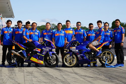 Team members Yamaha TJM, Asia Production 250cc