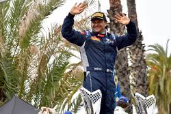 Cerimonia di Premiazione: Paolo Andreucci, Peugeot Sport Italia