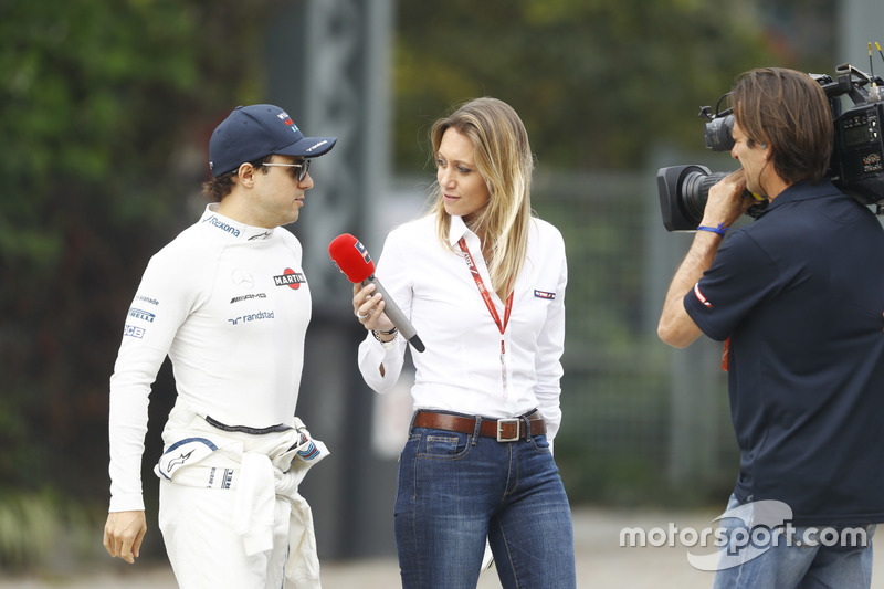 Felipe Massa, Williams, im Interview