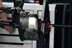 Force India VJM10, Hinterrad, Detail