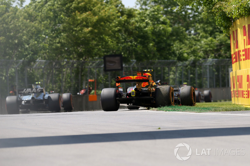 Сход: Макс Ферстаппен, Red Bull Racing RB13