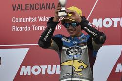 Podium: third place Franco Morbidelli, Marc VDS