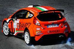 Simone Campedelli, Pietro Ometto, Ford Fiesta R5, Orange1 Racing
