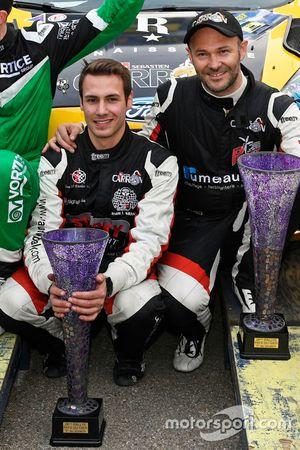 Vincent Landais, Sébastien Carron, Ford Fiesta R5, D-MAX Swiss, Team Balbosca, podiun