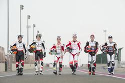 Marco Bezzecchi, CIP-Unicom Starker; Manuel Pagliani, CIP-Unicom Starker; Lorenzo Dalla Porta, Aspar
