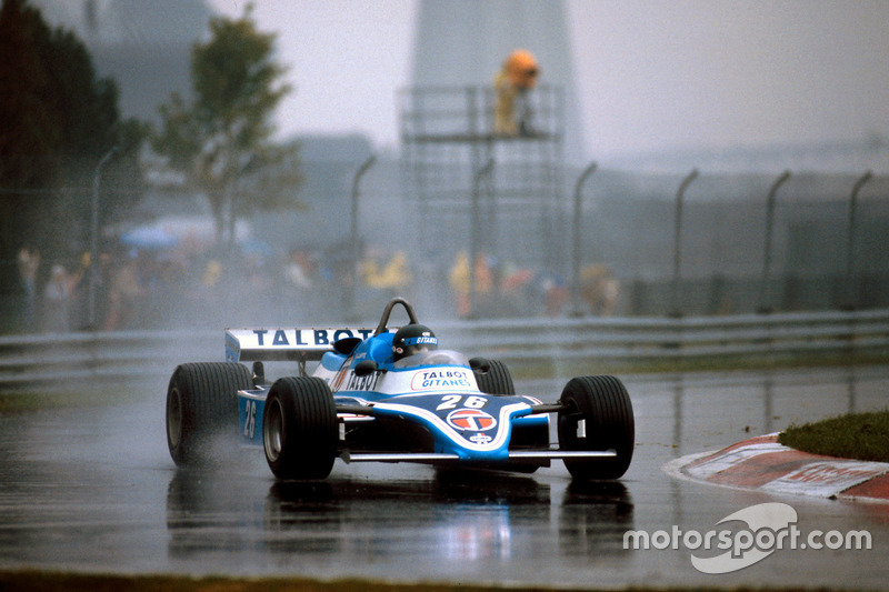 1981 Jacques Laffite, Ligier