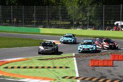 Roberto Colciago, M1RA, Honda Civic TCR, testacoda durante le qualifiche