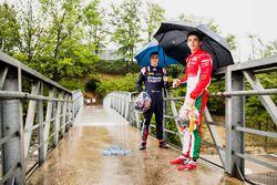 Charles Leclerc, PREMA Racing y Artem Markelov, RUSSIAN TIME